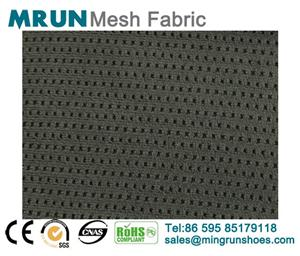 100% Polyester Single layer elastic shoe mesh fabric