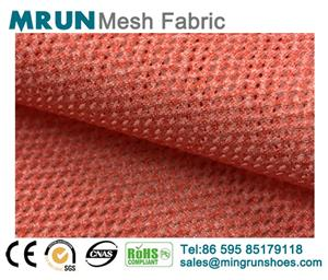 New Single layer breathable jacquard shoe mesh fabric