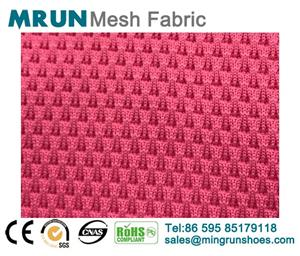 Elastic knit mesh fabric