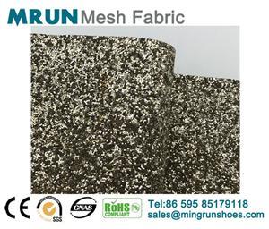 New metalic glitter fabric
