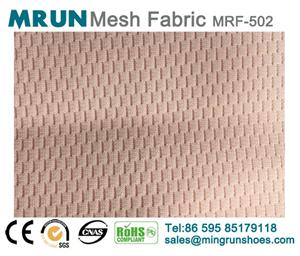 2018 high quality flyknit mesh fabric polyest knit mesh
