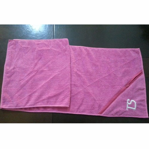 Zipper Gym Towel