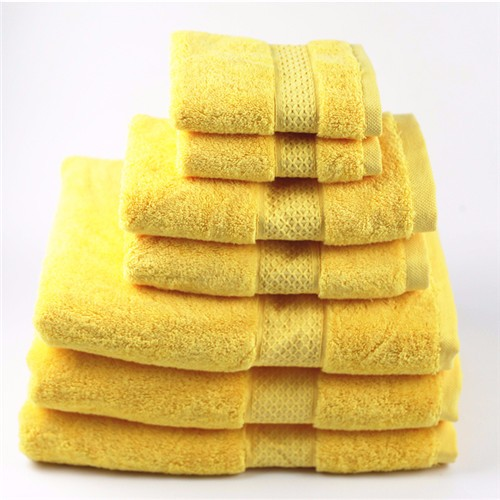 100% long-staple cotton jacquard hotel towel set