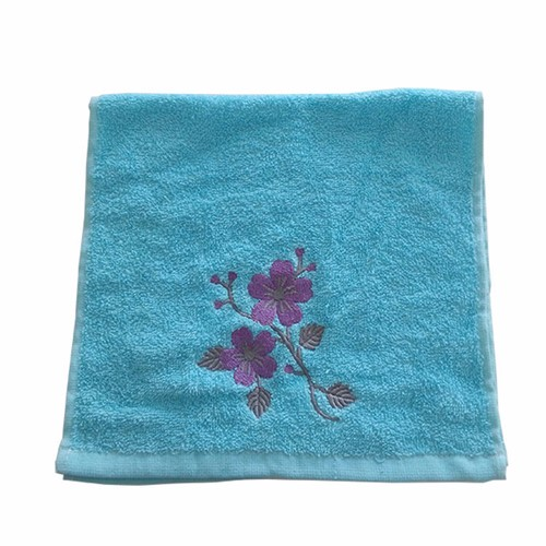 custom logo embroidery cotton towels