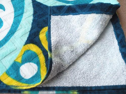 woven towels beach printe
