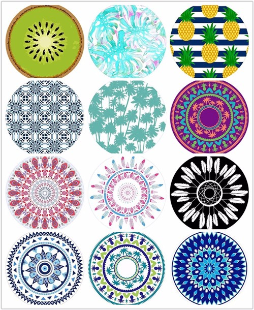 High quality flower round beach towels Quotes,China flower round beach towels Factory,flower round beach towels Purchasing