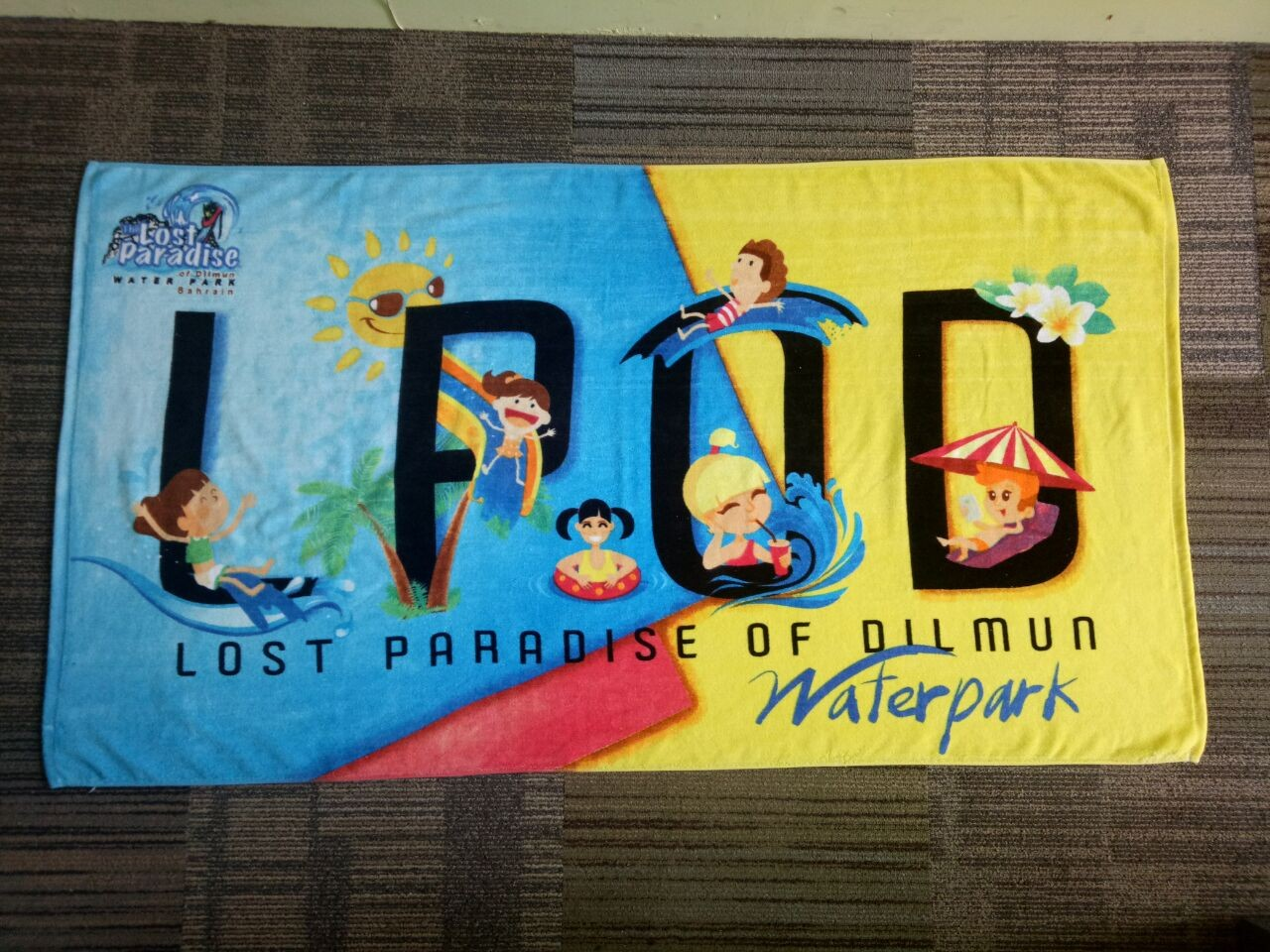 our company new product 100% cotton 30*60inches beach towel