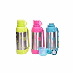 2.0L glass interior stainless steel printing thermos bottle