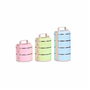 Multilayer stainless steel liner food warmer