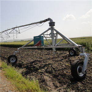 Automatic Three Wheel Towing Irrigation System