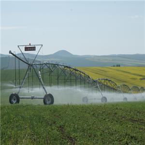 Sprinkler Irrigation System With Spray Gun