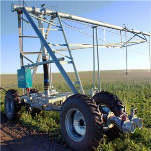 Four Wheel Linear Move Irrigation System With Diesel Generator