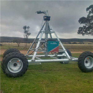 Automatic Four Wheel Towing Irrigation System