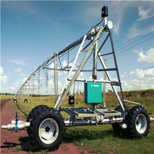 Linear Move Irrigation Machine With Pump