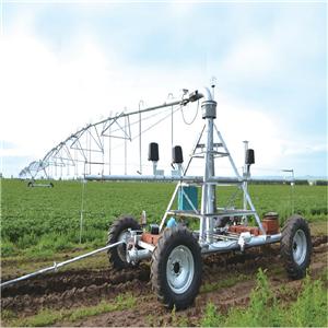 Center Pivot Irrigation Machine with Linear Move