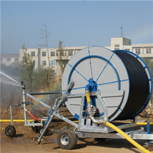 Hose Reel Irrigation System With Half Hydraulic