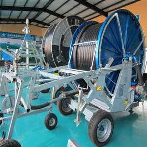 Hose Reel Irrigation Machine With Water Turbine
