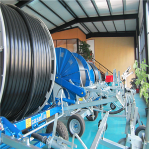 Water Sprinkler Hose Reel Irrigation Machine