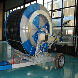 Farm Hose Reel Irrigation System With Spray Gun