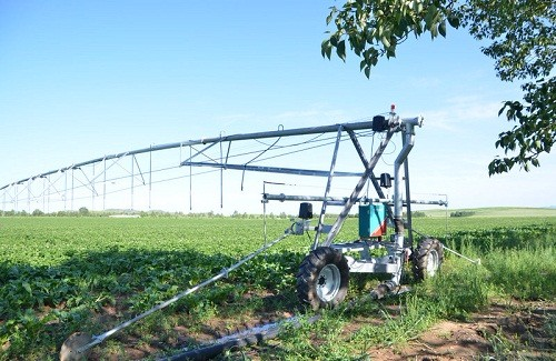 Application of Linear Move Irrigation System