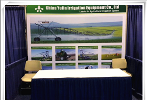 POLY PIPE FOR FIXED PIVOT IRRIGATION MACHINE in IRRIGATION SHOW 2017