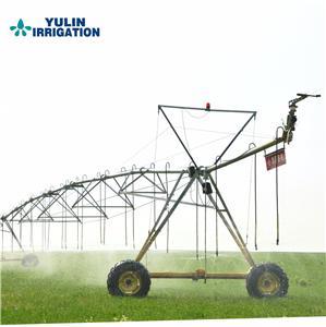 Irrigation machine with Galvanization Span Parts