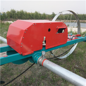 Side Poweroll Irrigation Machine