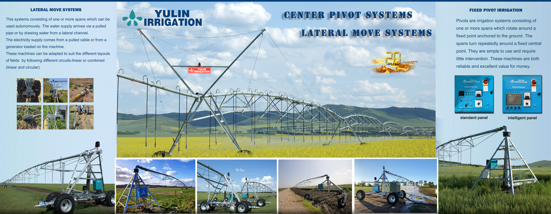 DYP Fixed Center Pivot Irrigation System