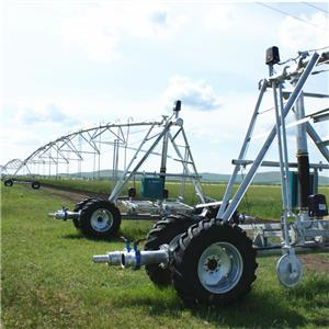 China Yulin New Condition Linear Move Farm Irrigation System for Agriculture/Agricultural Sprinkler Gun Irrigation Machine