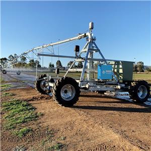 Linear Move Irrigation Machine with Pivot