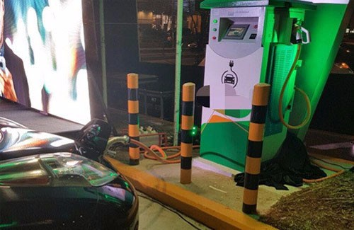 First CHAdeMO CCS Charger in Paraguay