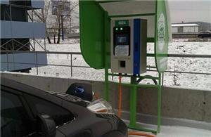 CHAdeMO fast charger installed in Ukraine