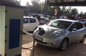 40kw EV Charging station for Nissan Leaf