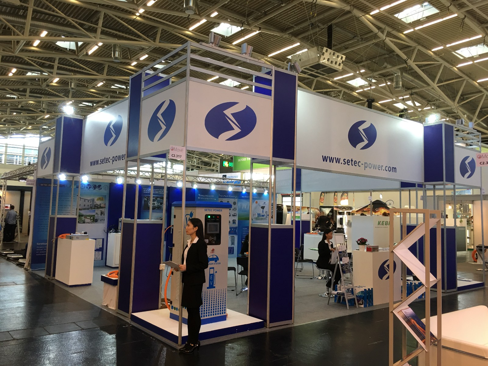 Successfully attended in EV Charger Fair in Munich-SETEC Power