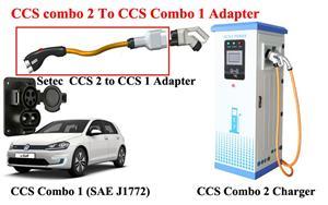 CCS Combo 2 to CCS Combo 1 Adapter