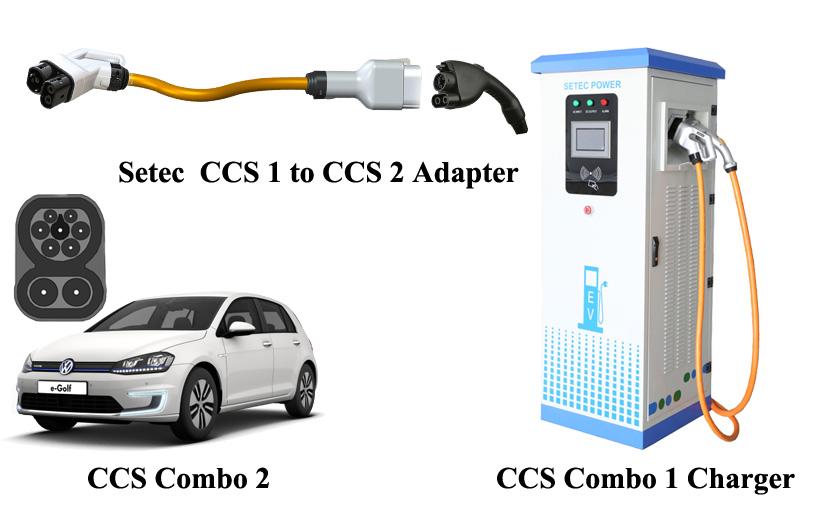 CCS Combo 1 to CCS Combo 2 Adapter