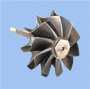 steel casting customized wheel impeller
