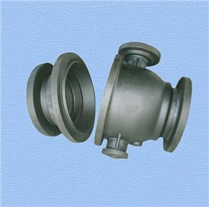 Ball Valve Cover of sand casting