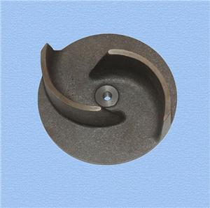 Cast Ductile Iron Impeller for pump