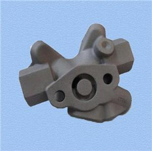Ductile iron sand casting automotive component