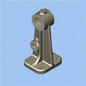 Sand casting iron part