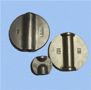 Different Sized Cast steel Valve Disc for butterfly valve