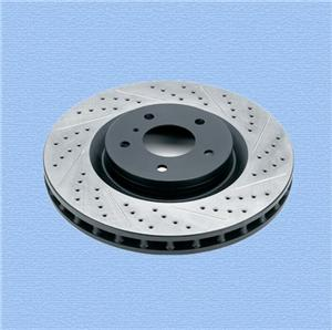 Cast Iron Brake Disc and CNC Machined Part