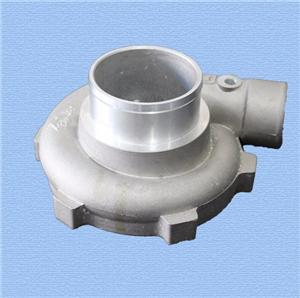turbocharger aluminum casting compressor housing