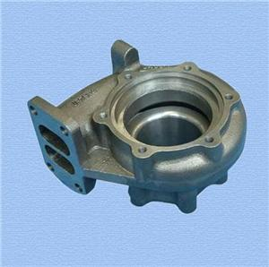 customized turbo charger cast iron turbine housing