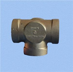 Non-ferrous metal casting copper casting fitting parts