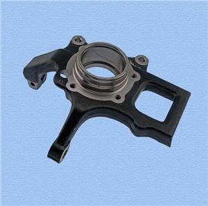 Casting iron steering knuckle for automotive