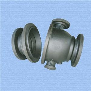 Customized shape sand casting iron part