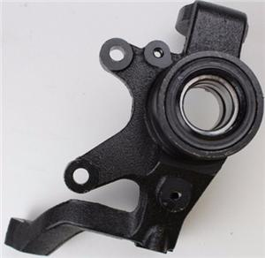 customized left steering knuckle