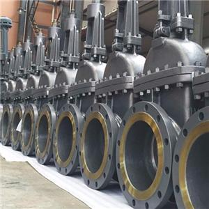 Cast steel gate valve body